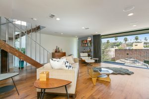 Interior of a home listed by LA Realtor Joy Bolger